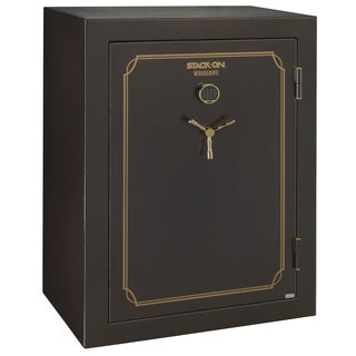 Stack-On 51-69 Brown Hammertone Gun Safe with Back-lit Electronic Lock