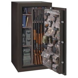 Stack-On Brown Hammertone 36-40 Gun Cabinet
