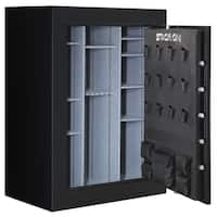 Stack-On 72-inch, 62-90 Matte Black Gun Safe with Electronic Lock