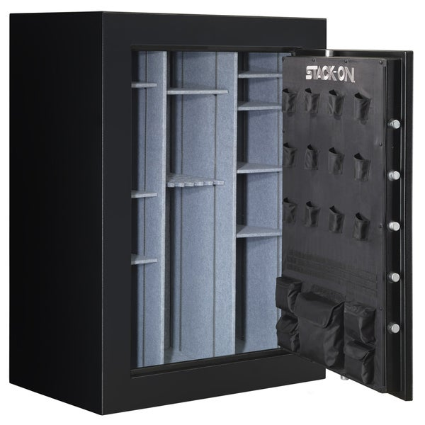 Stack-On 72-inch, 62-90 Matte Black Gun Safe with Electronic Lock