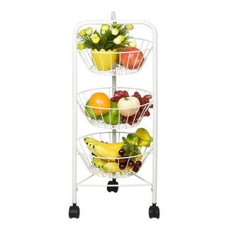 Furinno FNBJ-22140 Balmain 3-tier Fruit Storage Rack