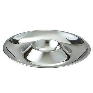 Heim Concept Stainless Steel Seafood / Dip 'N' Serve Tray