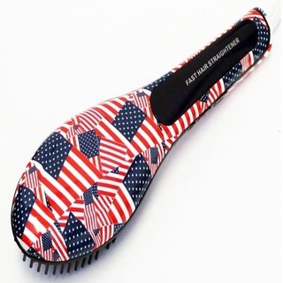 BeautyKo American Flag Straightening Brush