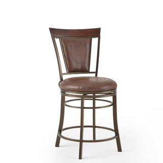 Chester 24-inch Swivel Counter Stool by Greyson Living