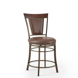 Chester 24-inch Swivel Counter Stool by Greyson Living|https://ak1.ostkcdn.com/images/products/13211867/P19930926.jpg?impolicy=medium