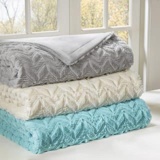 Intelligent Design Kylie Oversized Quilted Blanket 3 Color Option