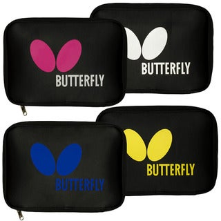 Butterfly Logo Black Nylon Table Tennis Racket Case