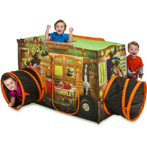 Play Hut Teenage Mutant Ninja Turtles Shell Raiser Vehicle Play Tent