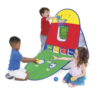 Playhut Multicolored Polyester 3-in-1 Sports Arcade Playhouse