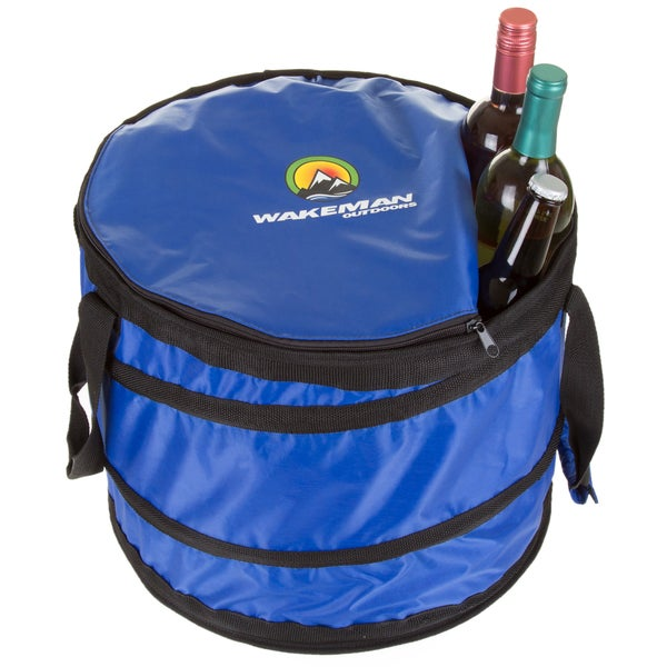 430b798f7d9b Shop Wakeman Portable Insulated Collapsible Cooler - Free Shipping ...