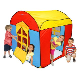 Play Hut Mega House Multicolor Polyester Play Tent