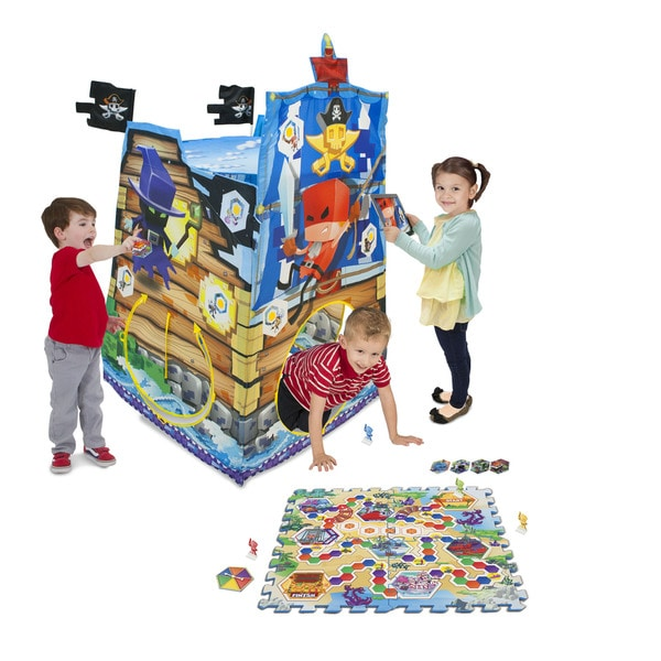 Playhut X Island Rush Multicolored Polyester Play Tent Game