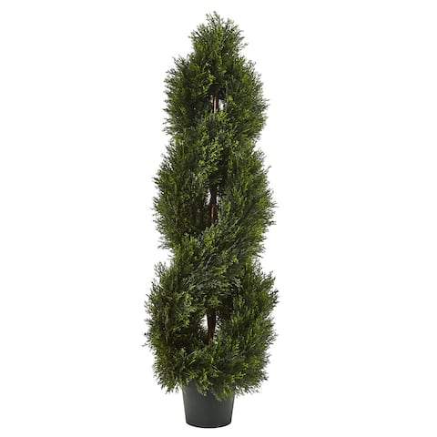 Double Pond Cypress Spiral Topiary