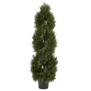 Link to Double Pond Cypress Spiral Topiary Similar Items in Decorative Accessories