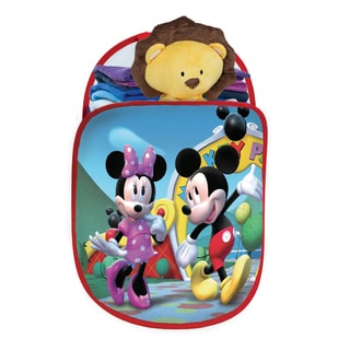 Play Hut Mickey Pop N Play Multicolor Polyester Tote