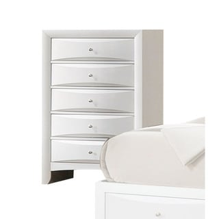 Link to Acme Furniture Ireland White 5-Drawer Chest Similar Items in Dressers & Chests