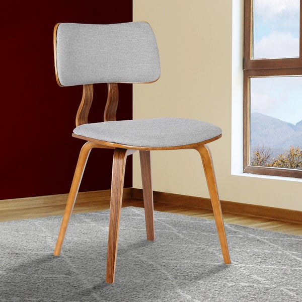 Carson Carrington Ladeplads Mid-century Walnut Chair. Opens flyout.