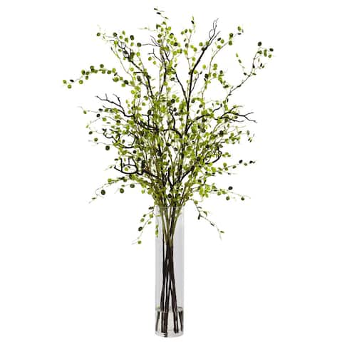 Nearly Natural Night Willow Arrangement