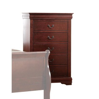 Acme Furniture Louis Philippe Multicolor Wood 5-drawer Chest