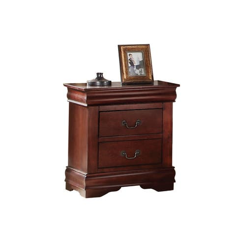 Acme Furniture Louis Philippe Wood 2-drawer Nightstand
