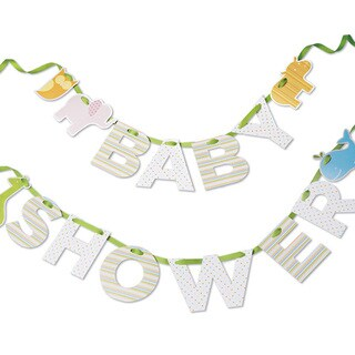 Multicolor Paper Baby Shower Decorative Banner