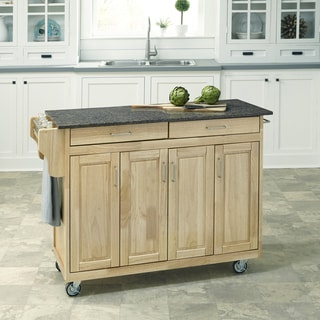 Home Styles Create-a-Cart in Natural Finish