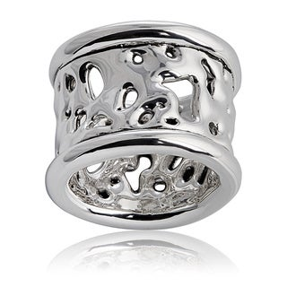 Silver Liquid Lace Ring (Israel)