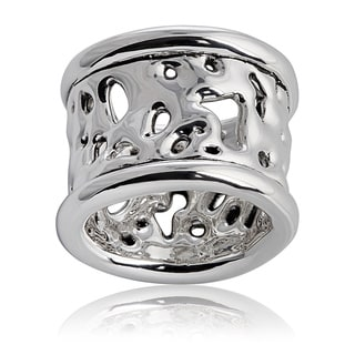 Handmade Sterling Silver Liquid Lace Ring (Israel)
