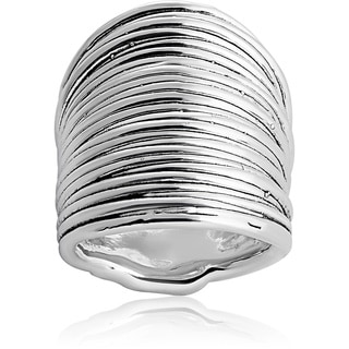 Sterling Silver Strand Cluster Ring (Israel)