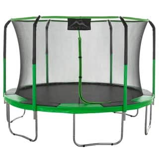 SKYTRIC 11 ft. Trampoline with Top Ring Enclosure System with Easy Assemble|https://ak1.ostkcdn.com/images/products/13212726/P19931669.jpg?impolicy=medium