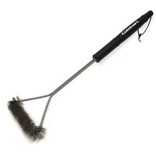 Cuisinart Black Tri-Wire 21-inch Grill Cleaning Brush
