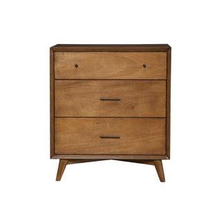 Alpine Flynn Mid-century Wood 3-drawer Small Chest