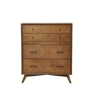Alpine Flynn Mid-century 4-drawer Chest