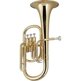 Stagg WS-AH235 Brass Body Key of Eb Alto Horn with ABS Case Included