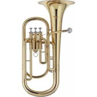 Stagg WS-BH235 Bb Baritone Horn With Case Included