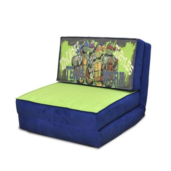 Magnificent Shop Teenage Mutant Ninja Turtles Kids Novelty Flip Chair Lamtechconsult Wood Chair Design Ideas Lamtechconsultcom