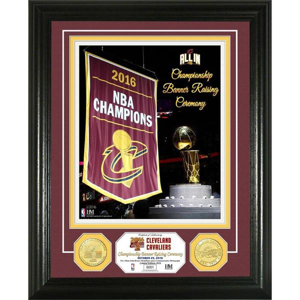 Cleveland Cavaliers 2016 Banner Raising Bronze Coin Photo Mint