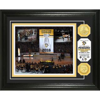 "Pittsburgh Penguins 2016 Stanley Cup Champions ""Banner Raising"" Bronze Coin Photo Mint"