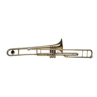 Stagg WS-TB285 Brass Bb Valve Trombone with ABS Case