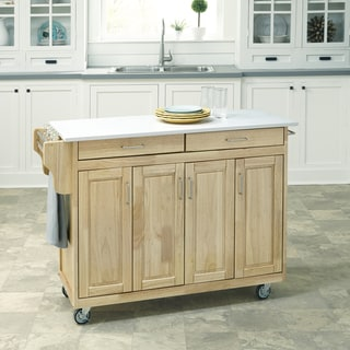 Create-a-Cart in Natural Finish by Home Styles
