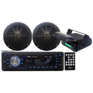 Pyle KTMRGS14 In-Dash Marine AM/FM Radio USB SD Aux-In for iPod/MP3 Stereo Player Receiver|https://ak1.ostkcdn.com/images/products/13212827/P19931870.jpg?impolicy=medium