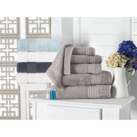 Barclay 100-percent Turkish Cotton Wash Cloths (Set of 4) - Washcloths 12 x 12