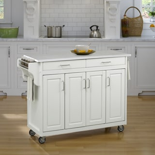 Create-a-Cart in White Finish by Home Styles