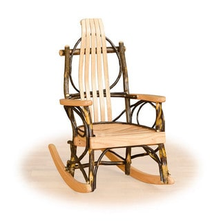 Rustic Hickory OR Hickory U0026 Oak Childrensu0027 Rocking Chair
