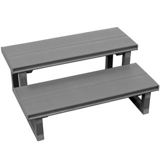 Cal Flame Plastic and Metal 30-inch 2-tier Spa Steps