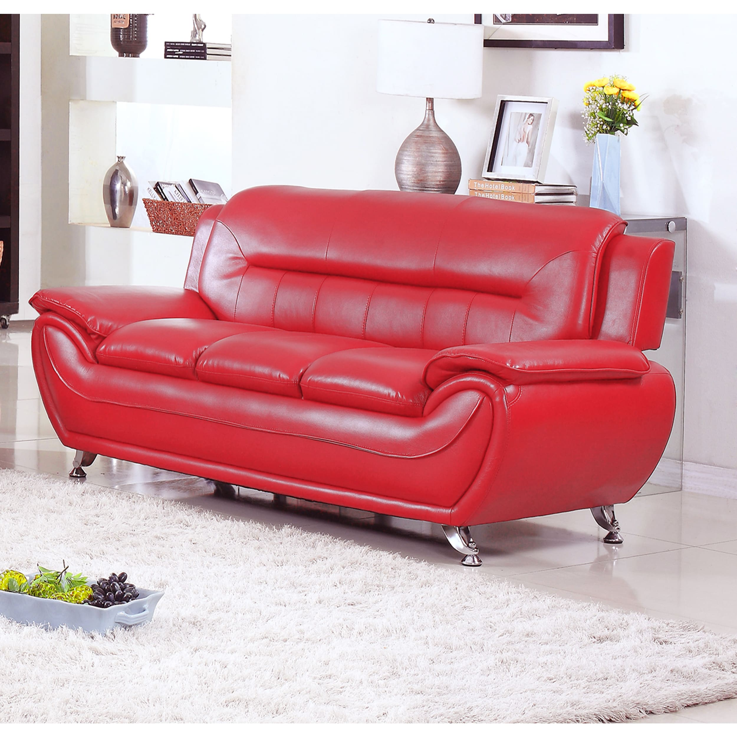 Cool Alice Faux Leather Modern Sofa Gamerscity Chair Design For Home Gamerscityorg