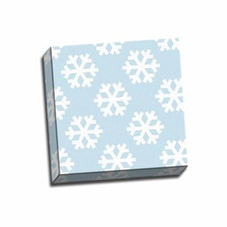 Picture It on Canvas 'Snowflake Pattern' 12x12 Wrapped Canvas