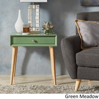 Marin Danish Modern 1-drawer Accent End Table iNSPIRE Q Modern