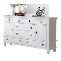 Acme Furniture Merivale White 6-drawer Dresser