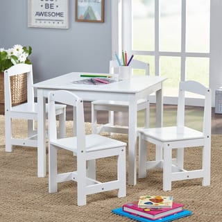 Simple Living Hayden Kids Contemporary Table And Chair Set